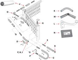 Banister Railing Parts Railing Components