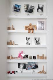 floating shelves for your ornaments designed by tristan titeux