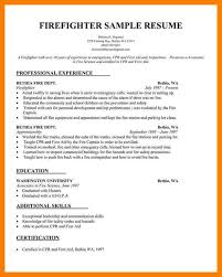 firefighter resume top firefighter cover letter examples