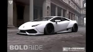 Lamborghini Huracan White Black Rims - liberty walk lamborghini huracan