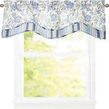 Valances And Curtains Traditions By Waverly Navarra Floral 52