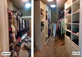 Clothes Closet Why Organize Meryl And Miller Llc