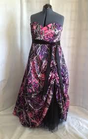 muddy camo floor length dress