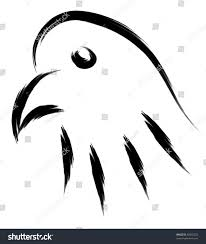 eagle head simple sketch stock vector 89402233 shutterstock