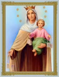 thanksgiving prayer to mother mary our lady of mount carmel