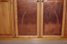 Custom Made Kitchen Cabinet Doors Furniture Distinctive Etched Wood Custom Cabinet Door Design