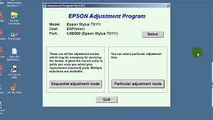 epson tx111 ink pad resetter cara reset epson tx111 how to reset epson tx111 easy youtube