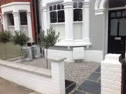small garden ideas terraced house front public corner gorgeous