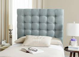 Blue Upholstered Headboard with Lamar Slate Blue Tufted Headboard Kid U0027s Beds And Headboards