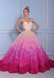 pink wedding dress 10 000 wedding dresses