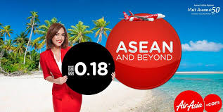 airasia singapore promo airasia singapore asean 50 travel with just base fare sgd 0 18