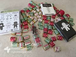 how to make stampin u0027 up cookie cutter christmas nugget treat bags