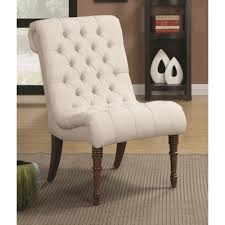 Armless Accent Chair Accent Seating Curved Accent Chair