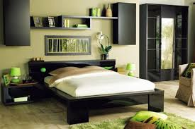 Bedroom Wall Design  Wall Decoration Behind The Bed Interior - Bedroom walls design
