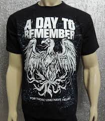 a day to remember ink wear camisetas