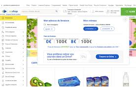 si e de carrefour ooshop le site e commerce alimentaire de carrefour va ré optimiser