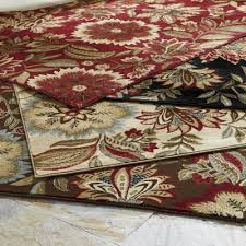 2 X 4 Kitchen Rug Flower Garden Rug 2 X 4 Hearth Size In Burgundy Pinterest