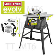 Bosch Saw Bench Table Saw Rigid Craftsman Ryobi Bosch New Used Ebay