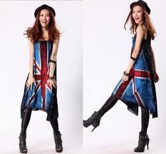 Uk Flag Dress Fashion Trends Enjoying Summer By Wearing Tank Dresses