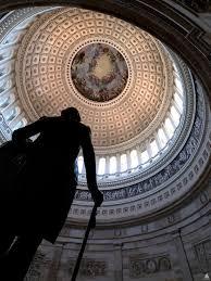 Apotheosis of washington in the rotunda of the u s capitol