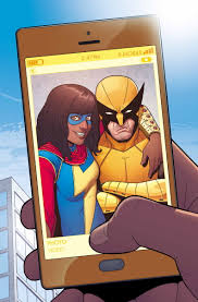 Ms Civil Cover Sheet by Ms Marvel Vol 3 7 Ms Marvel Marvel Wolverine And Marvel