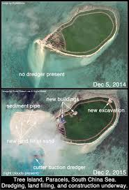 satellite images china manufactures land at new in the