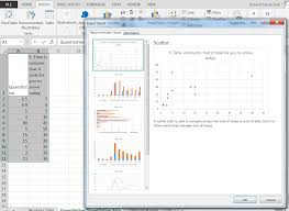 Graph Spreadsheet Bivariate Descriptive Statistics Unsing Spreadsheets To View And