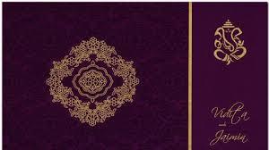 Wedding Cards In India Customized Wedding Invitation Card In Sardar Nagar Rajkot