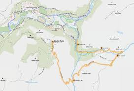 Yosemite Valley Map Glacier Point Alle Infos Zum Glacier Point Im Yosemite National Park
