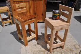 How To Build Patio Furniture How To Make Bar Stools
