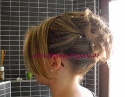 Hochsteckfrisuren Mittellange Haar Einfach by Mittellanges Haar Einfach Hochstecken