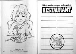 let u0027s go eat out cb577 educational coloring books crw flags