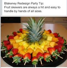fruit decorations fruit skewers healthy party snack mindhi healthy