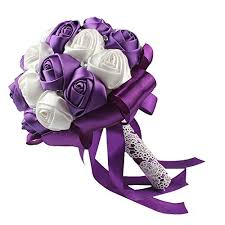 purple bouquets purple wedding bouquets