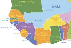 africa map gambia map of africa ivory coast africa map