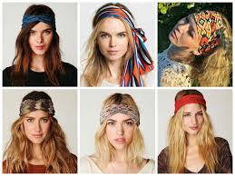 hairstyles with headbands foe mature women hairstyles with a thick headband the boho chic thick headband