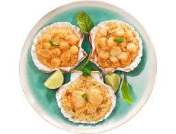 cuisiner des noix de jacques surgel馥s coquilles de noix de jacques surgelées à la bretonne 6 x 100