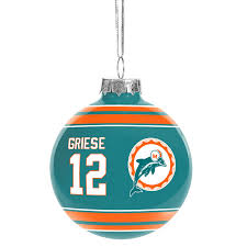 miami dolphins tree ornaments