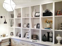 Decorate Office Shelves | nice office shelf decorating ideas home office shelving ideas