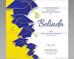 26 graduation invitation templates free premium creative
