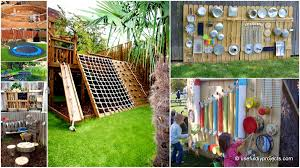 fun ways to transform your backyard into a cool kids playground