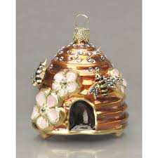 bee hive ornament because it s unique and i can