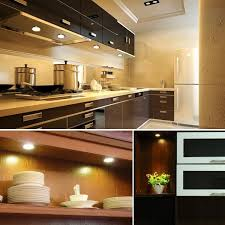 led puck lights under cabinet b right set of 6 led puck lights under cabinet lighting 1020lm