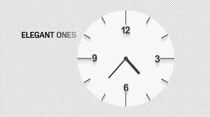 6 animated clocks pack free motion graphics template preview