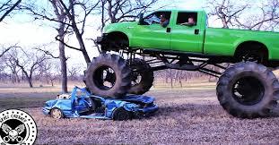 crushing cars monster truck fun