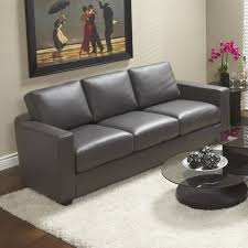 Light Gray Leather Sofa Charcoal Grey Leather Sofa 1025theparty
