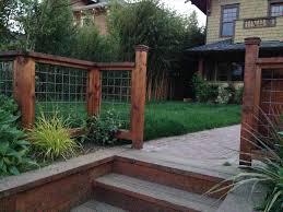pinterest diy backyard hog wire only best diy backyard fencing