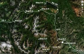 Map Of Leavenworth Wa Wenatchee Geological Sciences