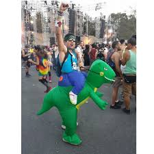 dinosaur inflatable costume 200cm fancy dress costume waterproof