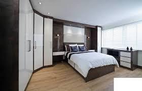 Free Standing Headboard Bedroom Sliding Door Freestanding Wardrobes King Size Bed With